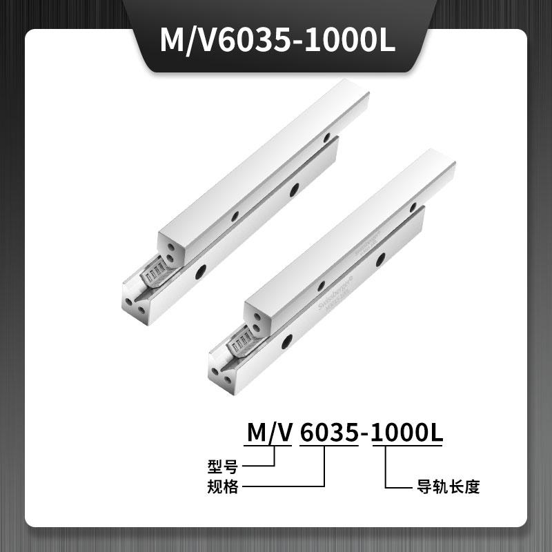 M/V6035-1000L交叉滚针直线导轨